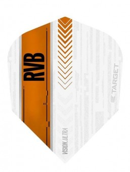 Target RVB VISION ULTRA WHITE/ORANGE NO6 Flight