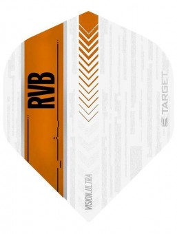 Target RVB VISION ULTRA WHITE/ORANGE No.2 Flight