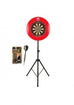 Target Starter Set Maxi - Dartboard, Darts, Surround & Ständer