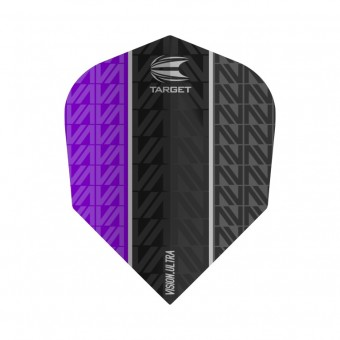Target VAPOR 8 BLACK VISION ULTRA PURPLE NO6 Flight