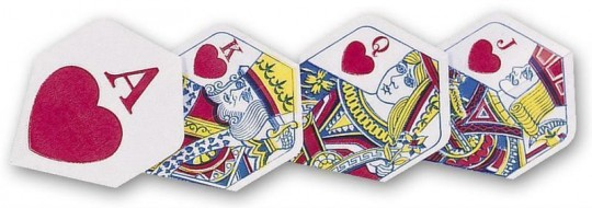 Unicorn Flight Ace of hearts Polyflite