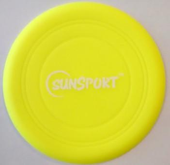 Wurfscheibe Neon Soft Disc GRÜN
