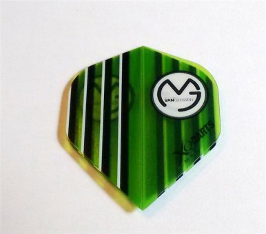 XQ-Max Darts MvG GREEN transparent Flight