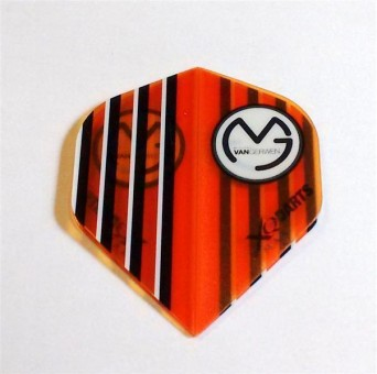XQ-Max Darts MvG ORANGE transparent Flight