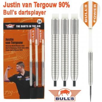 Bulls Five Star Justin van Tergouw Steeldart-Set 26g