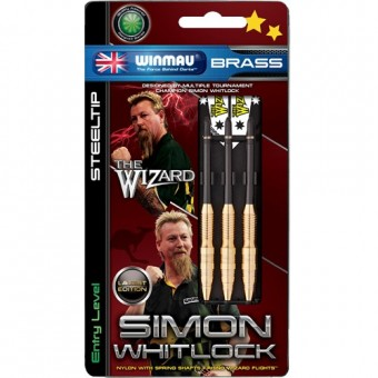 Winmau Simon Whitlock Brass Darts 22g
