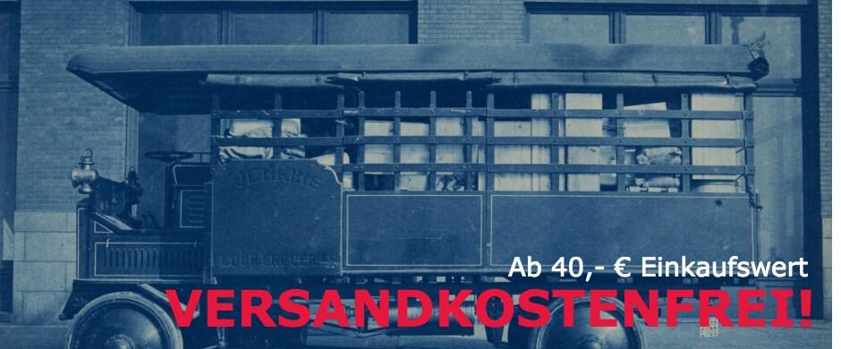 Banner Versandkostenfrei ab 40€
